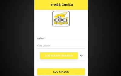 Senarai Website Affiliate Murah 2020 | Mobile Apps e-ABS Cuci Karpet sudah siap 90%